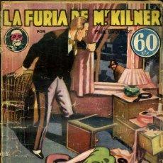 Libros antiguos: LA NOVELA AVENTURA SEXTON BLAKE : URQUHART - LA FURIA DE MR. KILNER (1934). Lote 47057697
