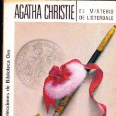 Libros antiguos: NOVELA POLICIACA , EL MISTERIO DE LISTERDALE , EDITORIAL MOLINO. Lote 47569475