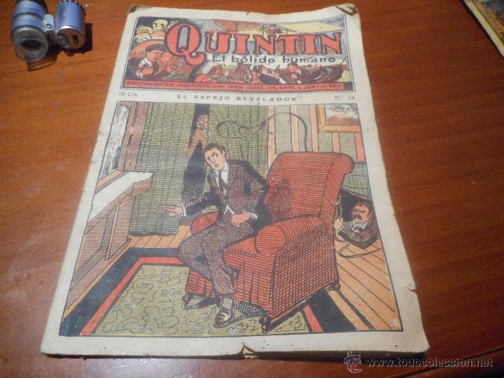QUINTIN EL BOLIDO HUMANO EDITORIAL GATO NEGRO BRUGUERA (Libros antiguos (hasta 1936), raros y curiosos - Literatura - Terror, Misterio y Policíaco)