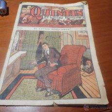 Libros antiguos: QUINTIN EL BOLIDO HUMANO EDITORIAL GATO NEGRO BRUGUERA. Lote 48216878