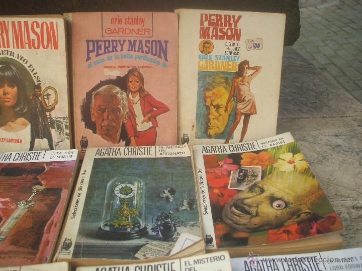 Libros antiguos: Lote de novelas de Agatha Cristie y Perry Mason - Foto 2 - 48353160