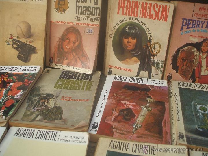 Libros antiguos: Lote de novelas de Agatha Cristie y Perry Mason - Foto 3 - 48353160
