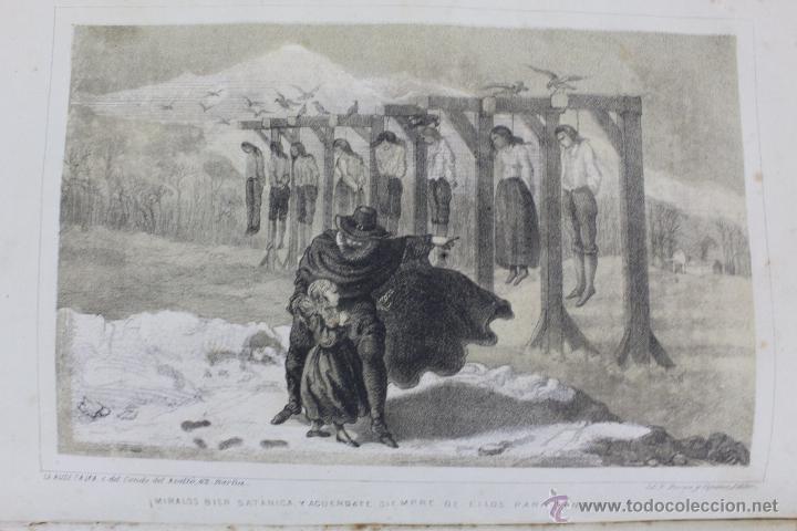 Libros antiguos: L-1527. LA HIJA DE SATAN. CUADRO HISTÓRICO DEL REINADO ENRIQUE IV FRANCIA. CLEMENCIA ROBERT. 1861 - Foto 4 - 49303383