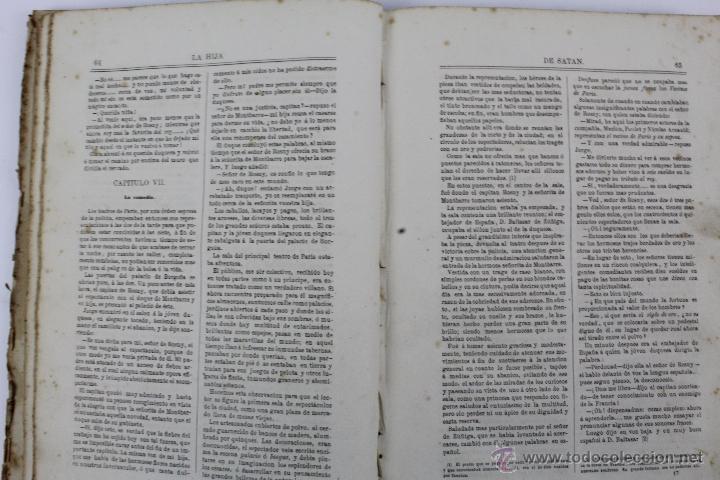 Libros antiguos: L-1527. LA HIJA DE SATAN. CUADRO HISTÓRICO DEL REINADO ENRIQUE IV FRANCIA. CLEMENCIA ROBERT. 1861 - Foto 6 - 49303383