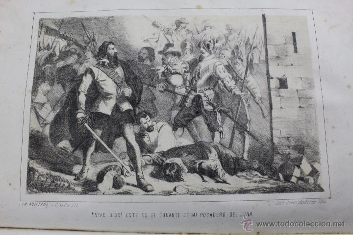 Libros antiguos: L-1527. LA HIJA DE SATAN. CUADRO HISTÓRICO DEL REINADO ENRIQUE IV FRANCIA. CLEMENCIA ROBERT. 1861 - Foto 8 - 49303383
