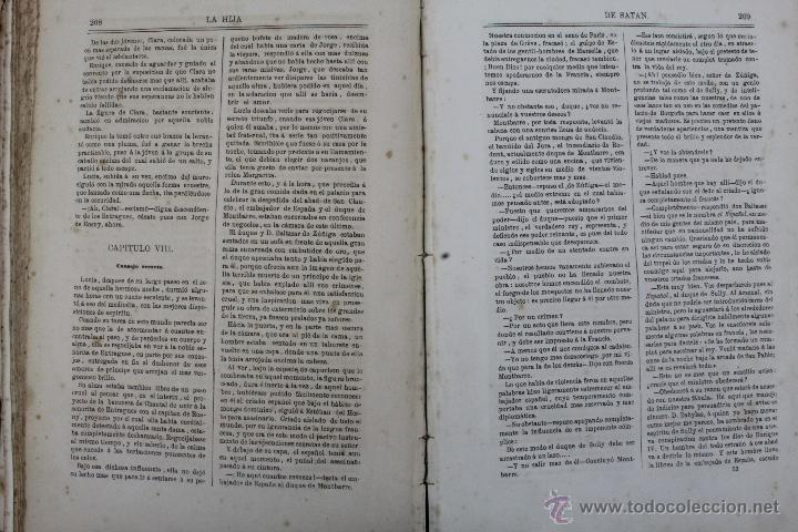 Libros antiguos: L-1527. LA HIJA DE SATAN. CUADRO HISTÓRICO DEL REINADO ENRIQUE IV FRANCIA. CLEMENCIA ROBERT. 1861 - Foto 9 - 49303383