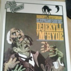 Libros antiguos: EL EXTRAÑO CASO DE DR.JEKYLL Y MR.HYDE-EDITORIAL ANAYA. Lote 49479613
