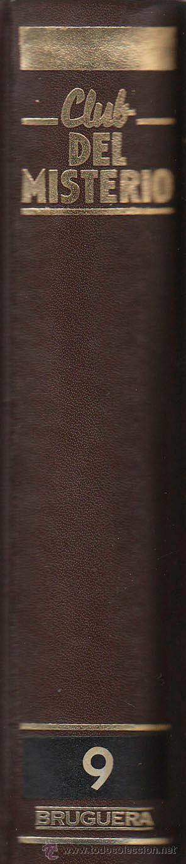 CLUB DEL MISTERIO TOMO Nº 9, 8 NOVELAS, 775 PÁGINAS, VER RELACION (Libros antiguos (hasta 1936), raros y curiosos - Literatura - Terror, Misterio y Policíaco)