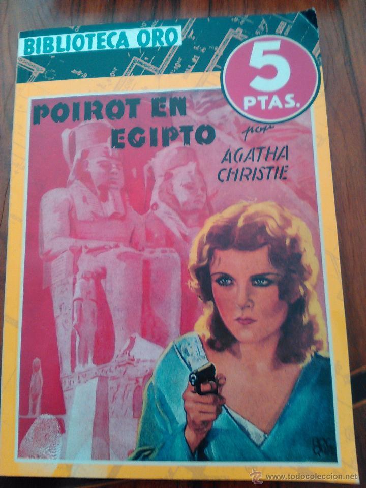 AGATHA CHRISTIE.POIROT EN EGIPTO.1944 (Libros antiguos (hasta 1936), raros y curiosos - Literatura - Terror, Misterio y Policíaco)