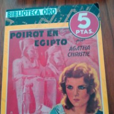 Libros antiguos: AGATHA CHRISTIE.POIROT EN EGIPTO.1944. Lote 50110589