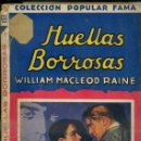 Libros antiguos: MACLEOD RAINE : HUELLAS BORROSOS (POPULAR FAMA, 1933). Lote 50933557