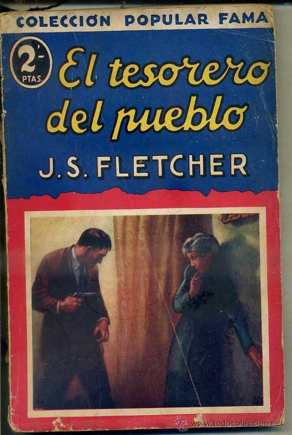 FLETCHER : EL TESORERO DEL PUEBLO (POPULAR FAMA, 1933) (Libros antiguos (hasta 1936), raros y curiosos - Literatura - Terror, Misterio y Policíaco)