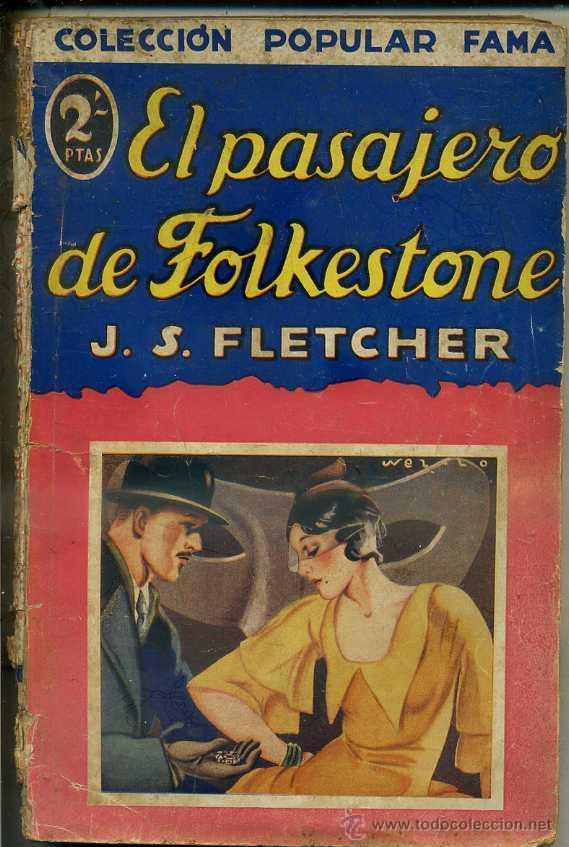 FLETCHER : EL PASAJERO DE FOLKESTONE (POPULAR FAMA, 1933) (Libros antiguos (hasta 1936), raros y curiosos - Literatura - Terror, Misterio y Policíaco)