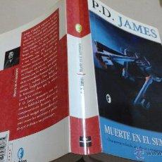 Libros antiguos: LIBRO BYBLOS P. D. JAMES MUERTE EN EL SEMINARIO MUY NUEVO 1° ED ÑJ.C. Lote 51044041