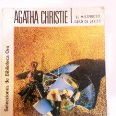 Libros antiguos: AGATHA CHRISTIE NUM 157 - EL MISTERIOSO CASO DE STYLES. Lote 51406186