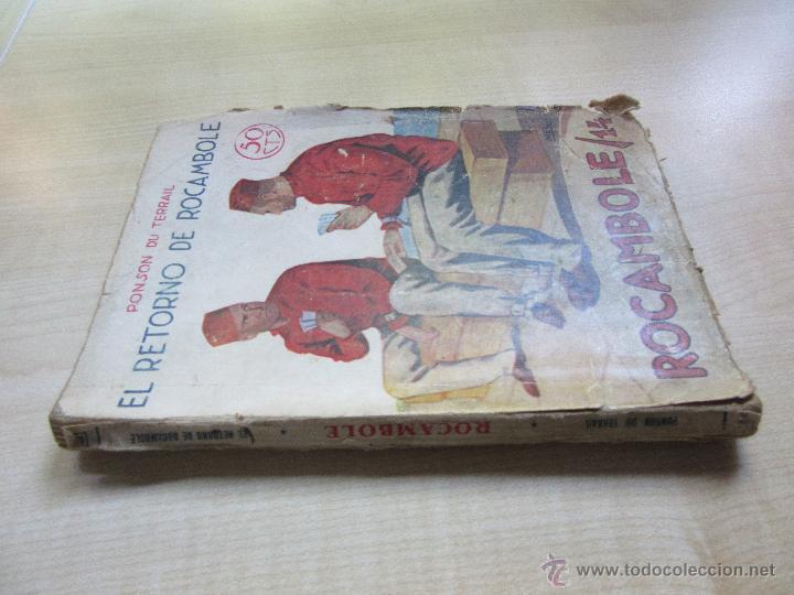 Libros antiguos: El retorno de Rocambole Ponson du Terrail Década 1920 Ilustraciones de Mel - Foto 2 - 52000613