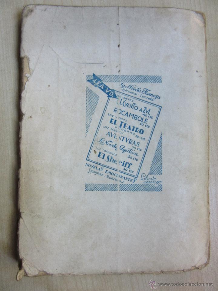 Libros antiguos: El retorno de Rocambole Ponson du Terrail Década 1920 Ilustraciones de Mel - Foto 3 - 52000613