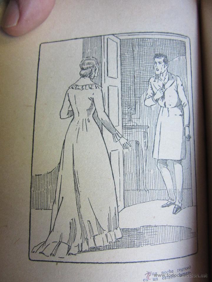 Libros antiguos: El retorno de Rocambole Ponson du Terrail Década 1920 Ilustraciones de Mel - Foto 5 - 52000613