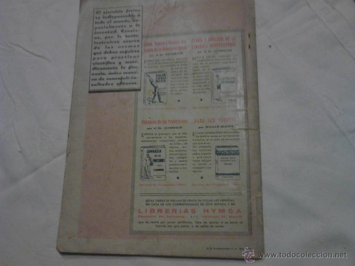 Libros antiguos: JACK EL JUSTICIERO EDGAR WALLECE AÑO II 1934 - Foto 2 - 52638707