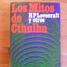 Libros antiguos: LOS MITOS DE CTHULHU. HP. LOVECRAFT Y OTROS. ALIANZA ED. 1996 532 PP. Lote 87308667