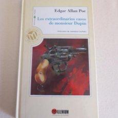 Libros antiguos: LOS EXTRAORDINARIOS CASOS DE MONSIEUR DUPIN. Lote 48269453