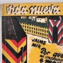 Libros antiguos: VIDA MUERTA. Nº 30. POR QUÉ ME CONDENARON A MUERTE. EDIT. FENIX. MADRID, 1933. 104 PAGS. . Lote 53249694