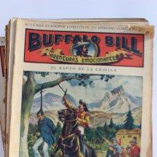 Libros antiguos: AVENTURAS EMOCIONANTES DE BUFFALO BILL. CIRCA 1911.FOLLETINES WESTERN AL ESTILO SHERLOCK HOLMES. Lote 53341097