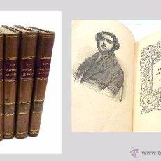 Libros antiguos: SUE, EUGENIO- LOS MISTERIOS DE PARIS (5 VOLUMENES) - AÑO 1.844. Lote 217376318