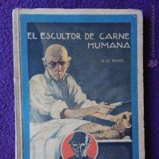 Libros antiguos: EL MISTERIOSO DOCTOR CORNELIUS. EL ESCULTOR DE CARNE HUMANA. COLECCIÓN ENIGMA. Lote 54536964