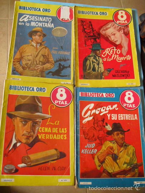Libros antiguos: biblioteca oro,15 novelas editorial molino años 30 40 y 50, - Foto 2 - 56292153
