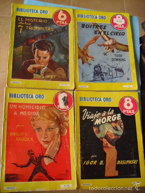 Libros antiguos: biblioteca oro,15 novelas editorial molino años 30 40 y 50, - Foto 3 - 56292153