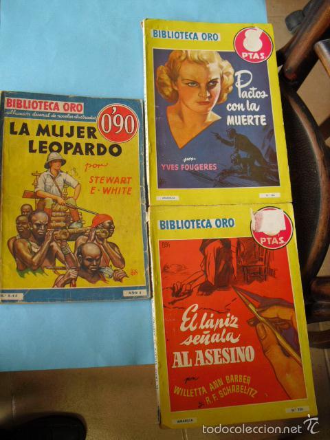Libros antiguos: biblioteca oro,15 novelas editorial molino años 30 40 y 50, - Foto 5 - 56292153