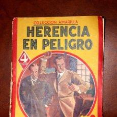 Libros antiguos: LA HERENCIA EN PELIGRO, POR R.L. STEVENSON, AÑOS 30. Lote 56644227