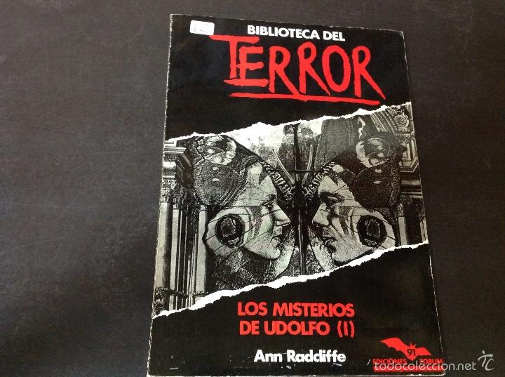 LOS MISTERIOS DE UDOLFO 1 (Libros antiguos (hasta 1936), raros y curiosos - Literatura - Terror, Misterio y Policíaco)