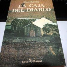Libros antiguos: LA CAJA DEL DIABLO - KEN KESEY - SEIX BARRAL. Lote 58506797