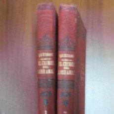 Libros antiguos: EL CRIMEN DEL PADRE AMARO. EÇA DE QUEIROZ. TRAD. RAMON DEL VALLE - INCLAN. 2 VOL. ED. MAUCCI . Lote 57486485