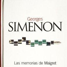 Libros antiguos: LAS MEMORIAS DE MAIGRET (GEORGES SIMENON) - EL PAIS CLASICOS DEL SIGLO XX - IMPECABLE. Lote 57514317