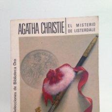 Libros antiguos: LIBRO, EL MISTERIO DE LISTERDALE, 273 AGATHA CHRISTIE, EDITORIAL MOLINO. Lote 58190291
