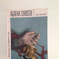 Libros antiguos: LIBRO, LOS RELOJES, 278 AGATHA CHRISTIE, EDITORIAL MOLINO. Lote 61752738