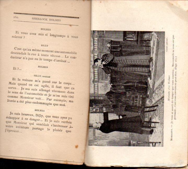 Libros antiguos: DECOURCELLE / CONAN DOYLE / GILLETTE : SHERLOCK HOLMES (LAFITTE, 1910) EN FRANCÉS - Foto 3 - 58498377