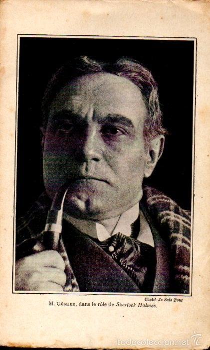 Libros antiguos: DECOURCELLE / CONAN DOYLE / GILLETTE : SHERLOCK HOLMES (LAFITTE, 1910) EN FRANCÉS - Foto 4 - 58498377