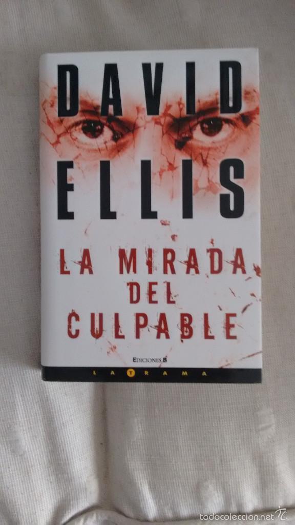 LA MIRADA DEL CULPABLE DE DAVID ELLIS (Libros antiguos (hasta 1936), raros y curiosos - Literatura - Terror, Misterio y Policíaco)
