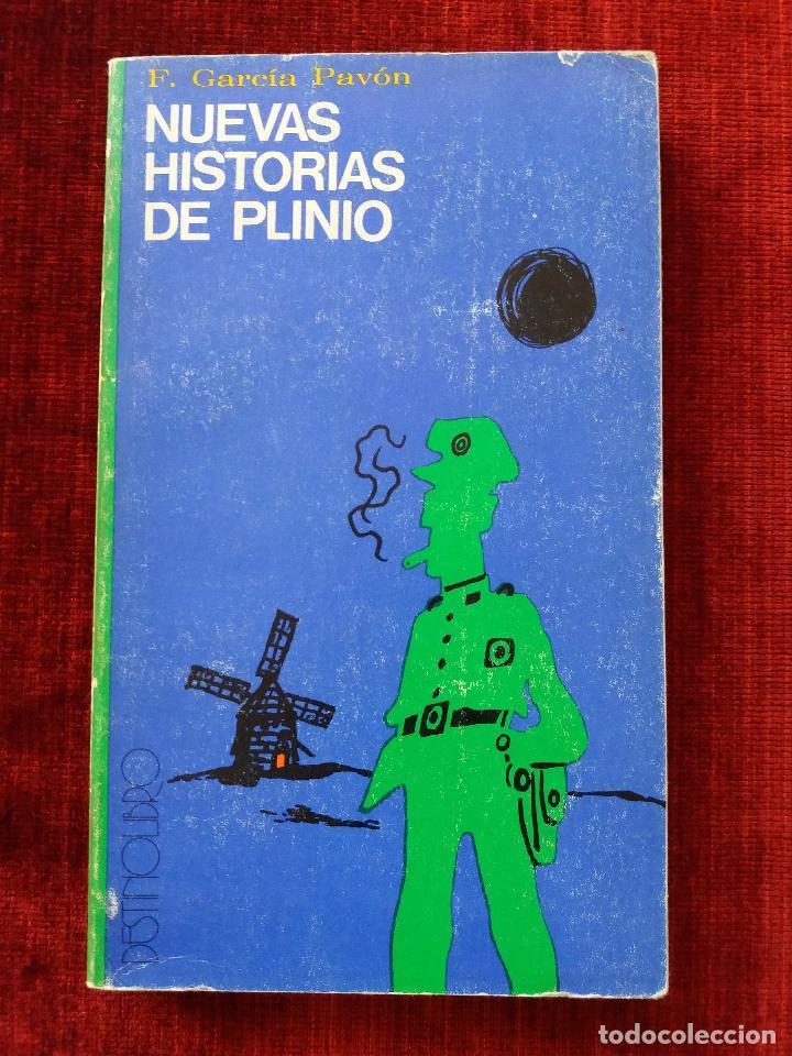 NUEVAS HISTORIAS DE PLINIO.F.GARCIA PAVON. (Libros antiguos (hasta 1936), raros y curiosos - Literatura - Terror, Misterio y Policíaco)