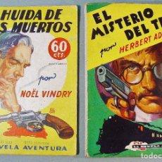 Alte Bücher - 2 EJEMPLARES DE LA NOVELA AVENTURA. BARCELONA. AÑOS 1935-36. - 62244840