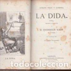 Libros antiguos: JOSEPH FELIU Y CODINA LA DIDA IL.LUSTRADA TOMÁS PADRÓ 1875 PRIMERA EDICIÓ. Lote 68248941