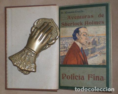 CONAN DOYLE, ARTHUR: POLICIA FINA (Libros antiguos (hasta 1936), raros y curiosos - Literatura - Terror, Misterio y Policíaco)