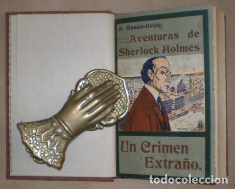 CONAN DOYLE, ARTHUR: UN CRIMEN EXTRAÑO. 1909 (Libros antiguos (hasta 1936), raros y curiosos - Literatura - Terror, Misterio y Policíaco)