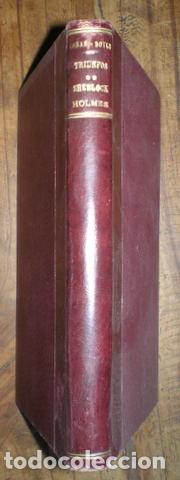 CONAN DOYLE, ARTHUR: TRIUNFOS DE SHERLOCK HOLMES. 1907 (Libros antiguos (hasta 1936), raros y curiosos - Literatura - Terror, Misterio y Policíaco)