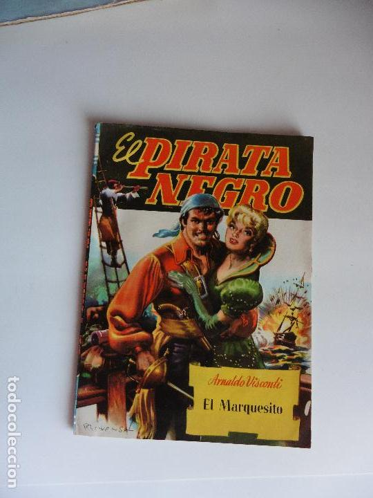 EL PIRATA NEGRO Nº 55 EDIT BRUGUERA ORIGINAL (Libros antiguos (hasta 1936), raros y curiosos - Literatura - Terror, Misterio y Policíaco)