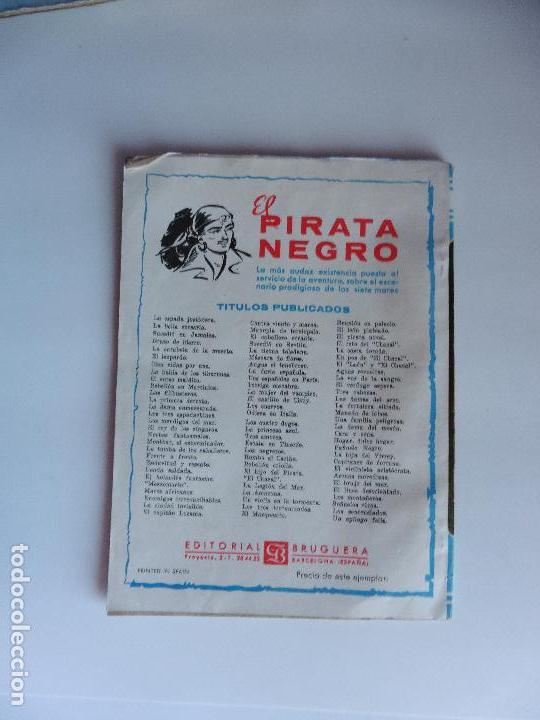 Libros antiguos: EL PIRATA NEGRO Nº 55 EDIT BRUGUERA ORIGINAL - Foto 2 - 69675633